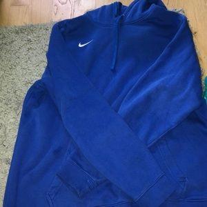 XL super comfortable blue nike sweatshirt